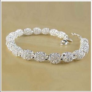 Jewelry - New .925 Sterling Ball Lobster Clasp bracelet 💖